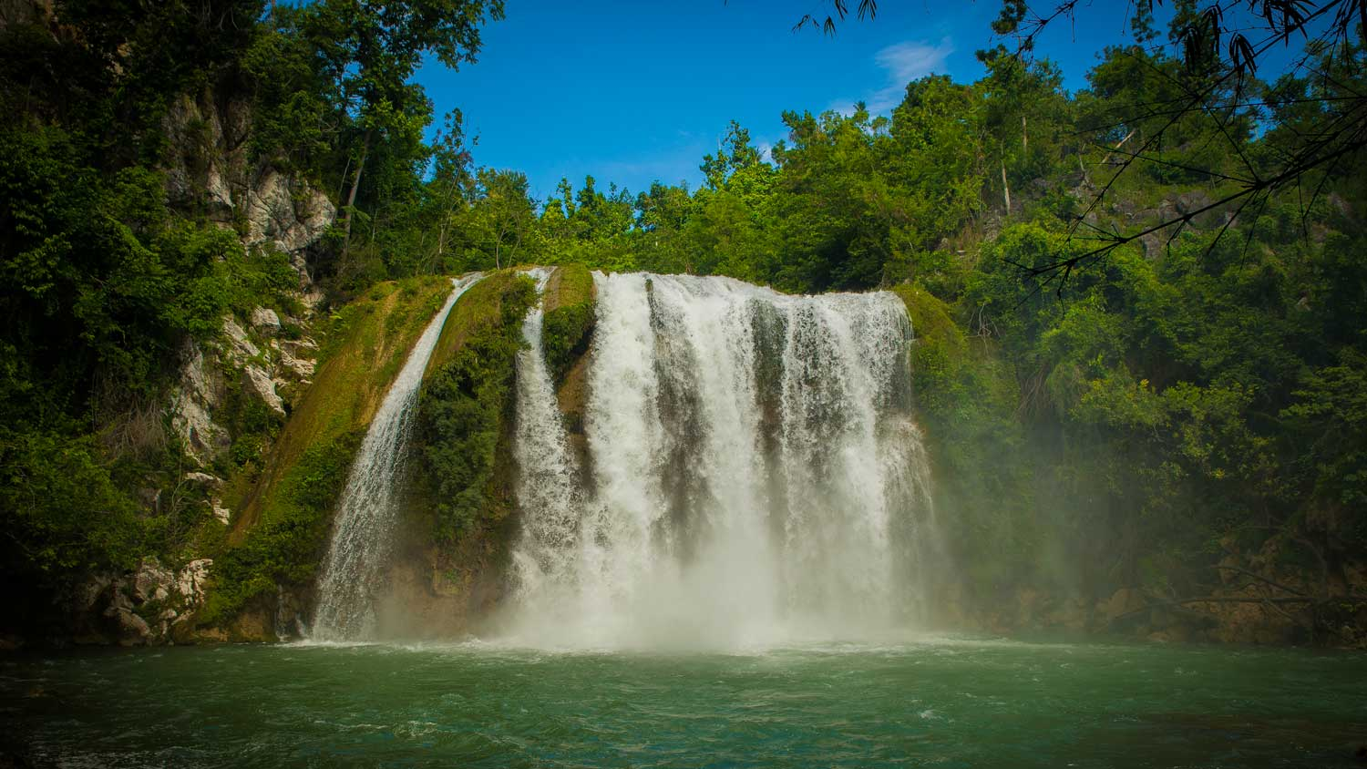 Waterfall at Saut Mathurine, Haiti
